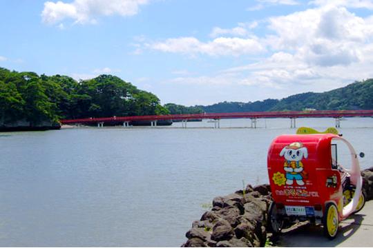 ベロタクシーin松島